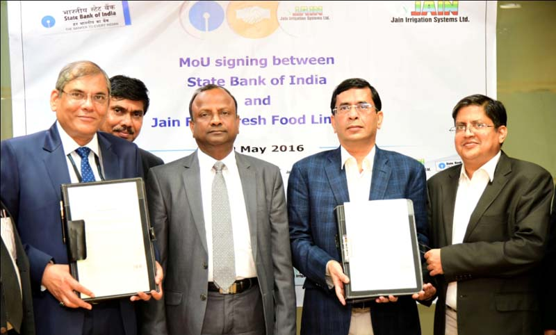 SBI Offers Financing to Farmers Through Corporate Partnerships
