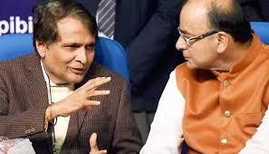 Suresh Prabhu Seeks Arun Jaitley's opinion on Merger of Railway and General Budget