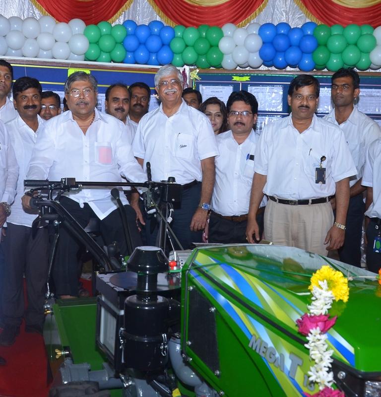 Chandrakant Dada Patil Launched KOEL's MEGA T