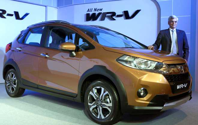 Honda Launched WR-V, Another Luxury Car for Indian Roads
