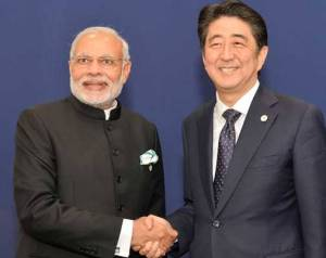 Japan PM Arrives Ahmadabad to Discuss India-Japan Trade and Bullet Train Project with PM Modi