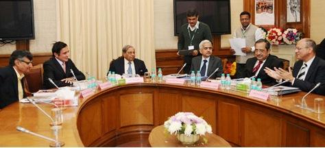 Finance Commission Met Top Economists in Mumbai