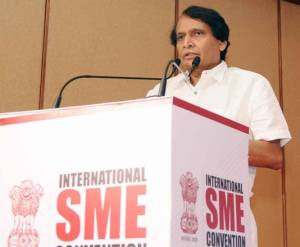 MSMEs can Drive into Formation of New India: Suresh Prabhu