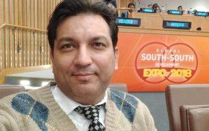 Faiz Askari, United Nations, GSSD EXPO