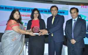 HealthFin Won Navbharat Award for Best Healthcare Startup