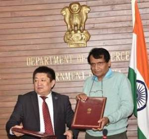 Kyrgyz-India Signed Trade Cooperation MoUs
