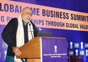 MSME Ministry Committed Towards Accelerating Growth for MSMEs: Giriraj Singh