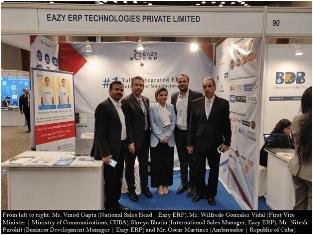 Eazy ERP Leverages IndiaSoft 2019 Global Expansion
