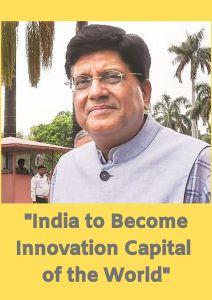 Piyush Goyal, Innovation, Startups