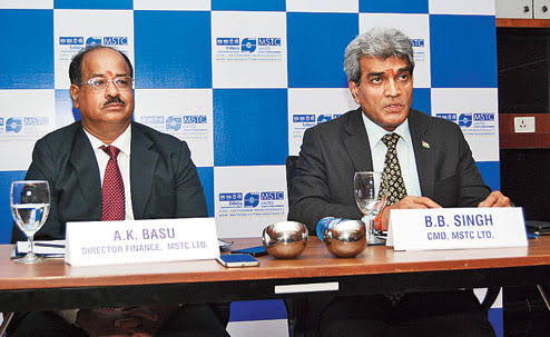 Share Price of MSTC Zoomed 20% After Signing MoU with Burn Standard