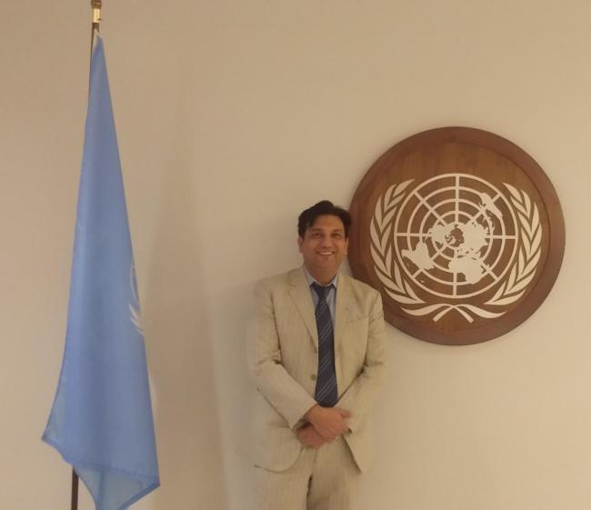 Faiz Askari, Founder of SMEStreet Participated UN South South Cooperation Summit & Expo 2018 in New York