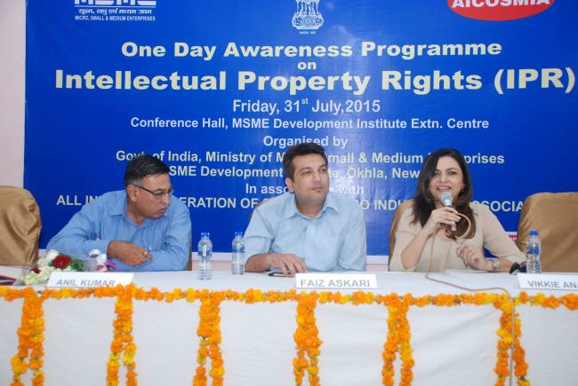 IPR Awareness Program with Ministry of MSME, Govt. of India