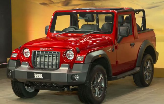 Mahindra Introduced New Thar All New BS-6 Compliant Sports Model