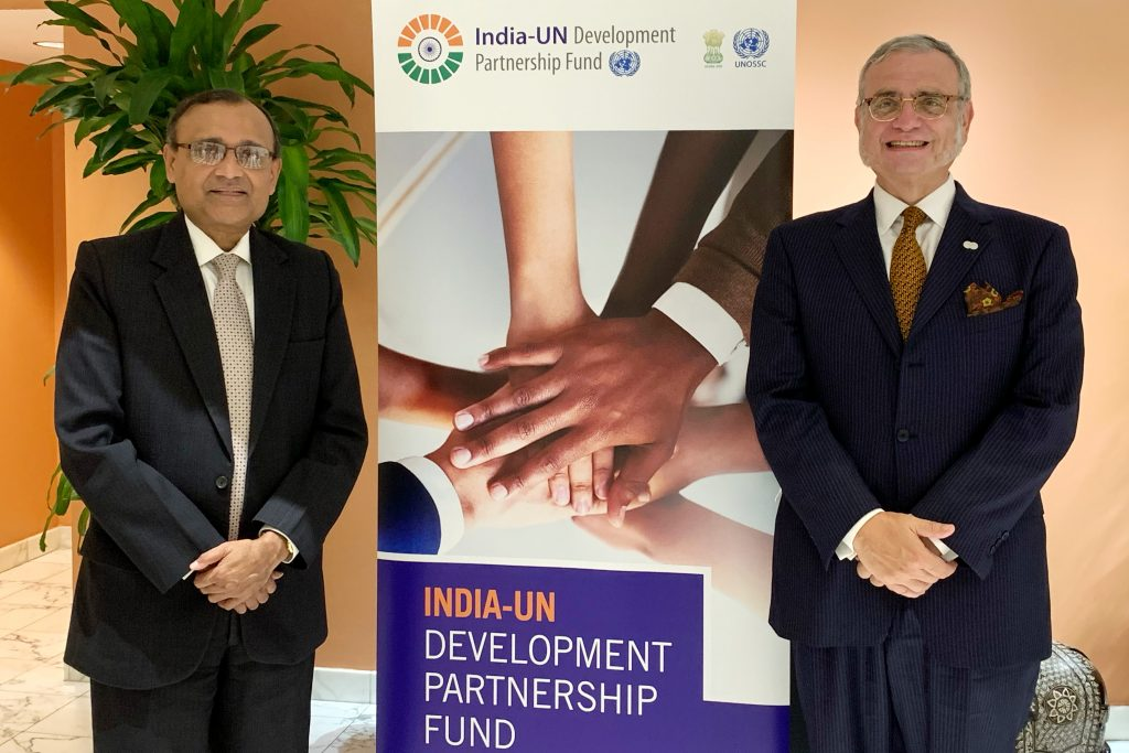 India Contributes $15.5 Million to India-UN Development Partnership Fund Managed by UNOSSC