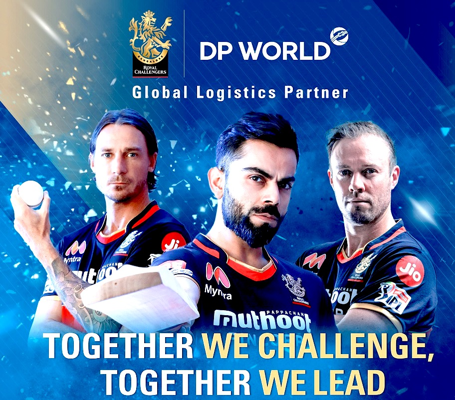 DP WORLD Is Global Logistics Partner Of Royal Challengers Bangalore