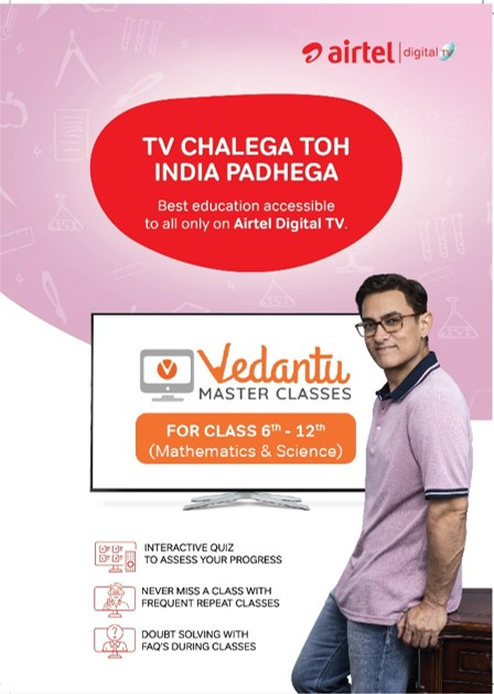 Airtel DTH and Vedantu Enables Affordable Access to Quality Education