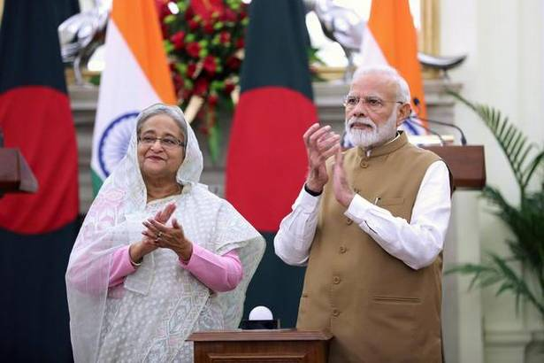 PM Modi & Sheikh Hasina Inaugurated Chilahati-Haldibari Rail