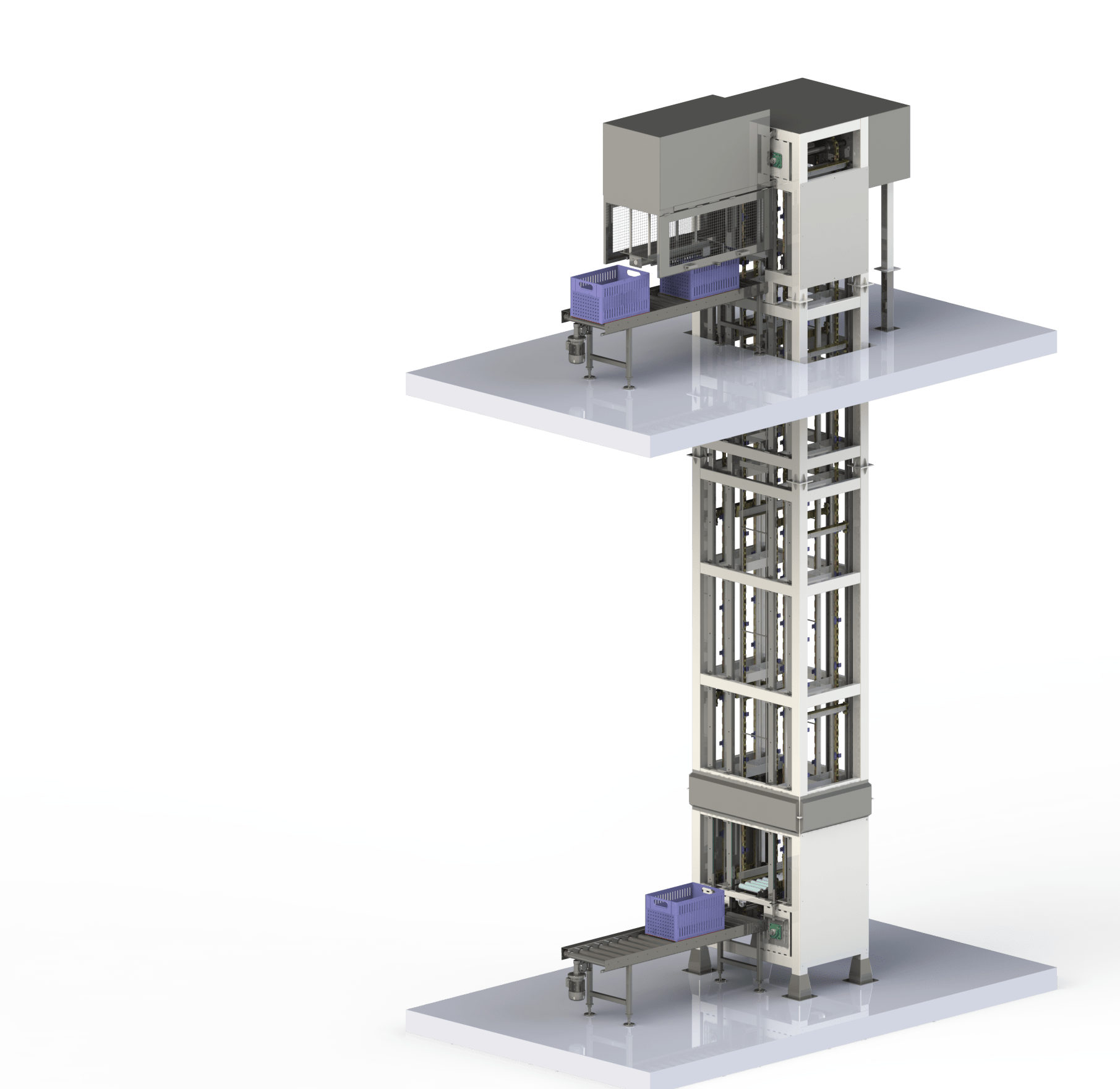 Kanchan Metals Launches Vertical Tray Lifting System for Food Processing Industry