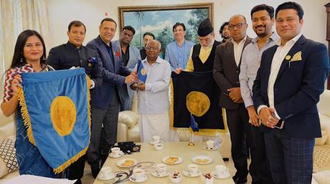 Nandan Jha, Adesh Tyagi, Faiz Askari, Lutfi Hassan, Yahya Bukhari, KG Balakrishnan