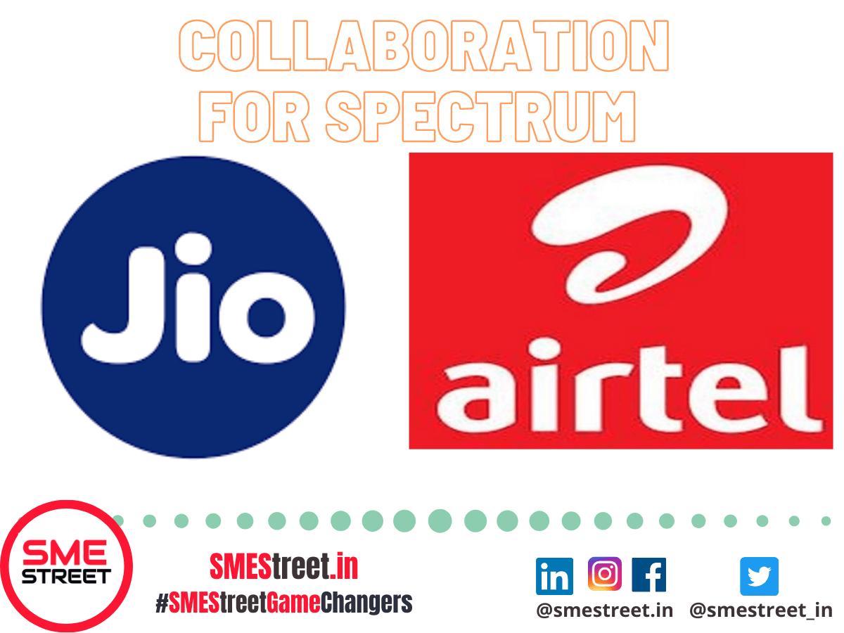 RELIANCE JIO Join Hands with Bharti Airtel For Trading Of Right To Use Spectrum In 800MHz Band For Andhra Pradesh, Delhi And Mumbai Circles