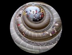 Bramante Double Helix Stairway Vatican