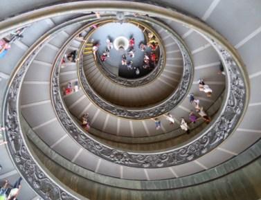 Bramante Double Helix Vatican