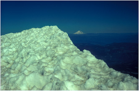 From Mt Hood to Mt St Helens Pre-Eruption 1974, Oregon