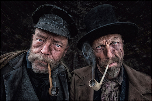 Smokers - Peter Gennard