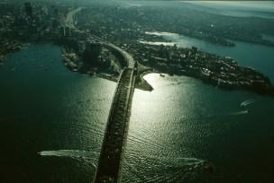 Sydney Harbour at Dusk