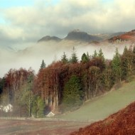 highly commended-hillside above elterwater-deborah degge