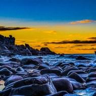 Sunset Lofoton Beech-Richard Derek Wilbraham LRPS