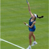 -Christina Mchale Serves for the Set-David Keel