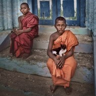 -Young Buddhist Monks-Lilliana Alani