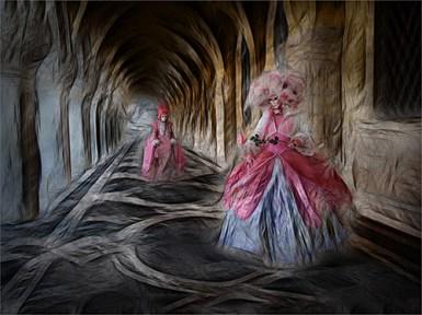 13 - Two Pink Ladies -P Siviter
