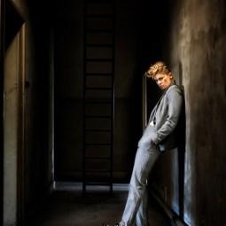 Highly Commended Jazz Singer Backstage David Lowe