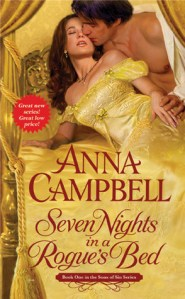 Joint Review: Seven Nights in a Rogue's Bed by Anna Campbell