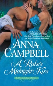 Review: A Rake's Midnight Kiss by Anna Campbell