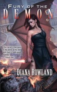 Review: Fury of the Demon by Diana Rowland