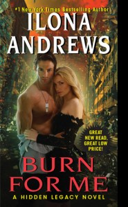 Joint Review: Burn for Me by Ilona Andrews