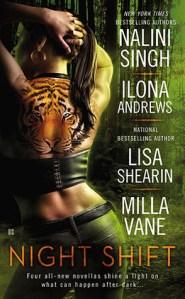 Review: Night Shift by Nalini Singh, Ilona Andrews, Lisa Shearin, and Milla Vane