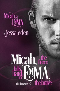 Review: Micah, The Fierce Falls Hard for Emma, The Brave  (Micah & Emma #1-7) by Jessa Eden