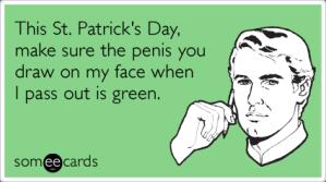 st-patricks-day-penis-draw-green-ecards-someecards