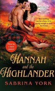 Review: Hannah and the Highlander (Untamed Highlander #1) by Sabrina York