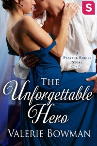 Review: The Unforgettable Hero (Playful Brides #4.5) by Valerie Bowman