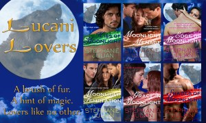 The Relaunch of the Lucani Lovers series by Stephanie Julian