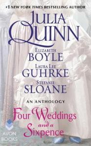 Review and Giveaway: Four Weddings and a Sixpence Anthology by Julia Quinn