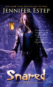 Review and Giveaway: Snared by Jennifer Estep