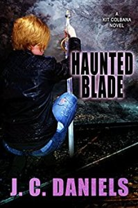 Feature: Haunted Blade (Kit Colbana #6) by J.C. Daniels