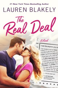 Cover Reveal! The Real Deal by Lauren Blakely