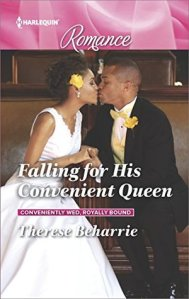Review: Falling for His Convenient Queen by Therese Beharrie